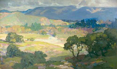 Franz-Bischoff-Arroyo-Seco-Pasadena-Oil-Painting